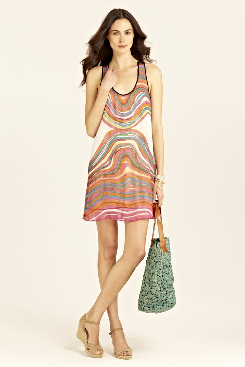 #r29summerstyle | Estella Reversible Silk Dress from Calypso St. Barth. $275.