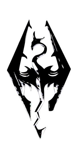 Skyrim Logo Tattoo : skyrim, tattoo, Skyrim, Tattoo, Design, Dragon, Emoncher, DeviantART, Tattoo,, Elder, Scrolls