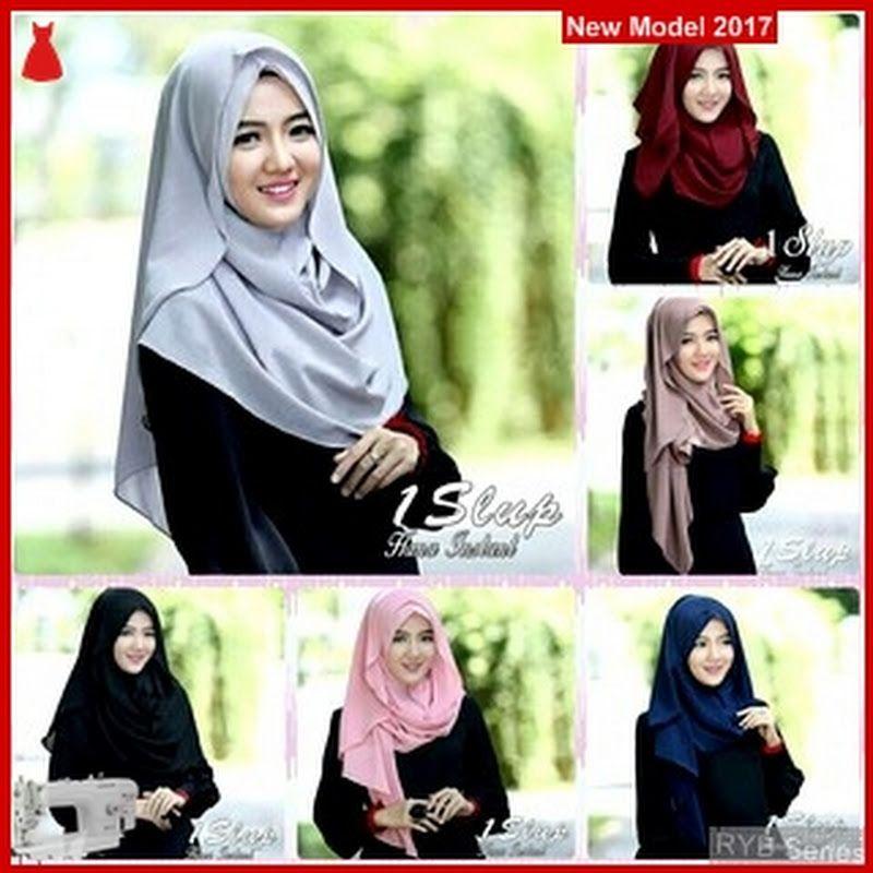 Ryb050b Kerudung Hijab Cantik 1slup Murah Hana Bmg Online Shop Pink Evening Dress Hijab Style Tutorial Hijab