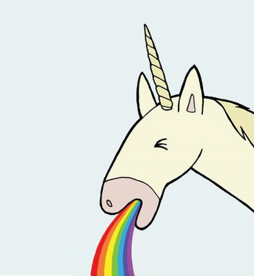 unicorn throwing up rainbow recherche google fondos de pantalla