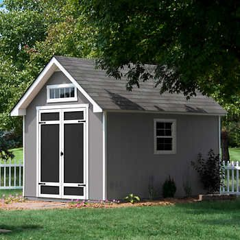 everton 8 x 12 deluxe wood storage shed from costco 1199 shipping and - Garden Sheds 8 X 12