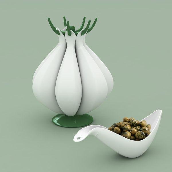 Garlic Shaped Bowl