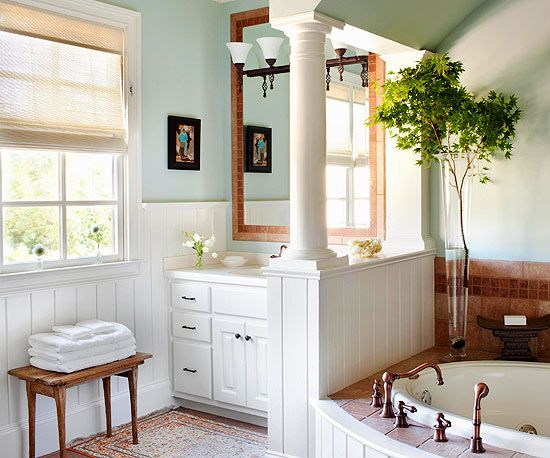 Freshen Your Bathroom With LowCost Updates Natural Light Lights - Cost to add window in bathroom