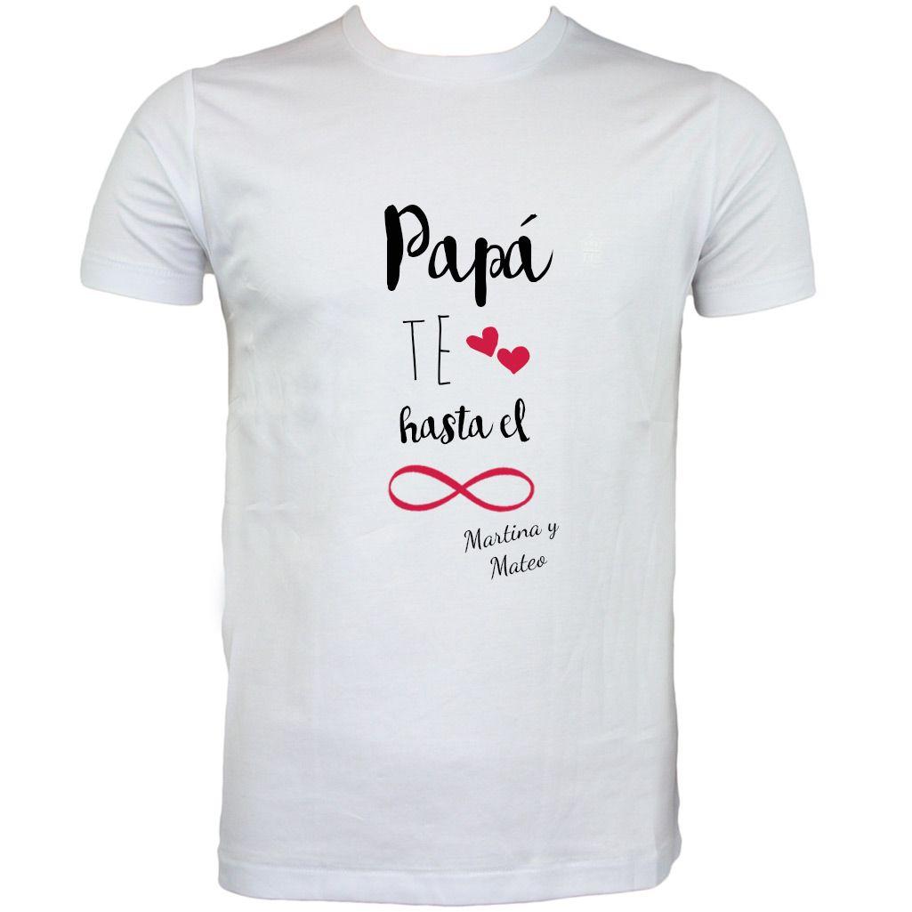 507bb10c3b6 Camiseta personalizada para padres para el día del padre ...