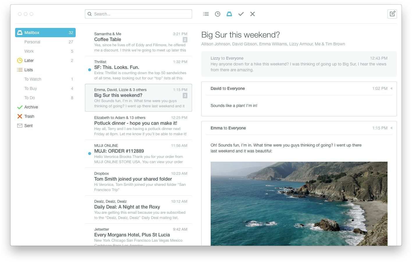 Dropbox Announces Mailbox For Mac To Fix Your Inbox Woes