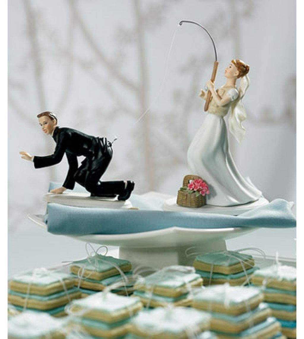 gone fishing wedding cake toppers the wedding specialiststhe funny