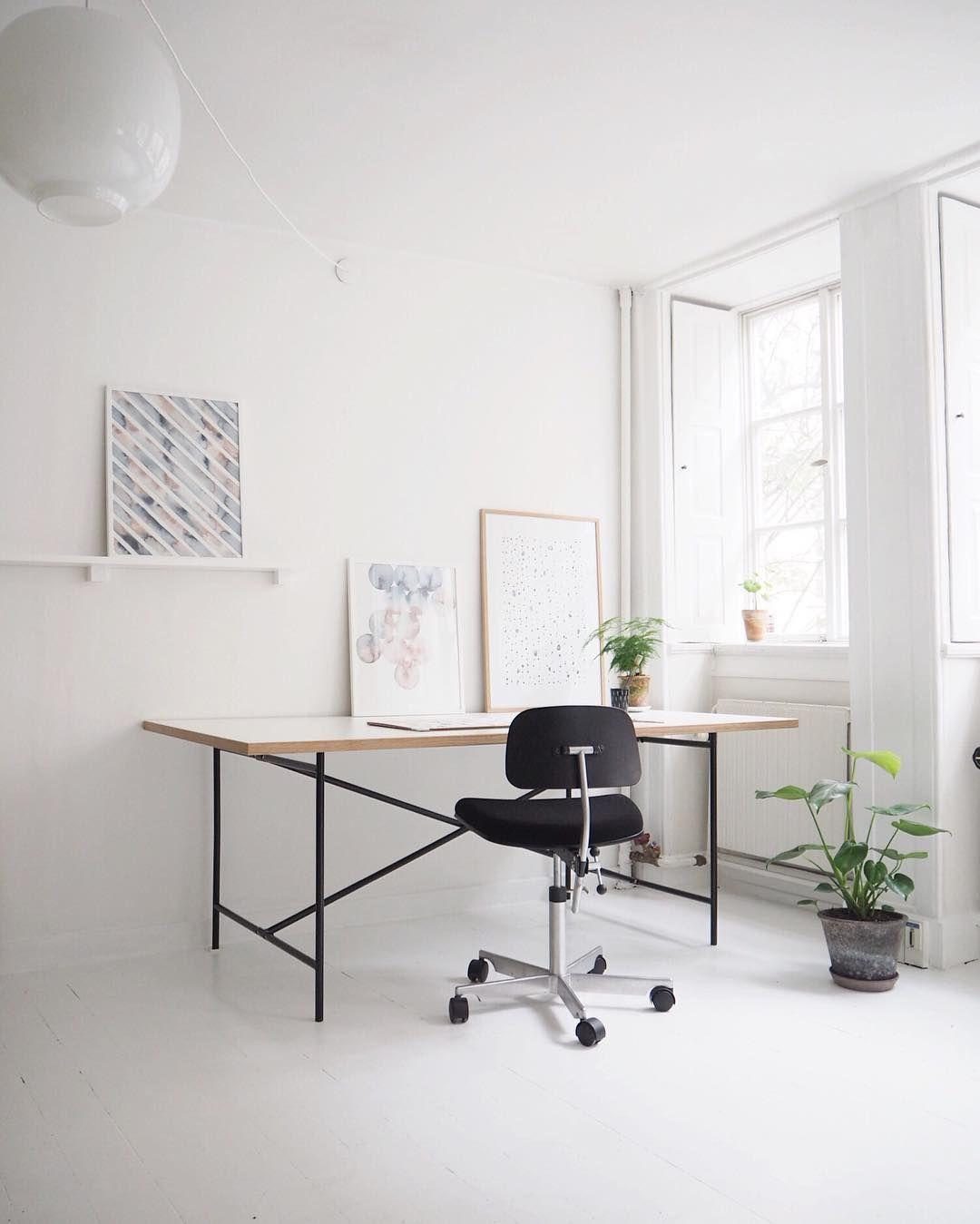 workspace furniture office interior corner office desk. Workspace: Studio Artwork By At{Silke Bonde} Workspace Furniture Office Interior Corner Desk 8