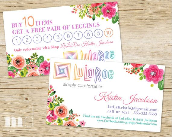 Custom business cards small business punch card loyalty stamp custom business cards small business punch card loyalty stamp card promotion buy 10 get one free ho approved floral design printable colourmoves Choice Image