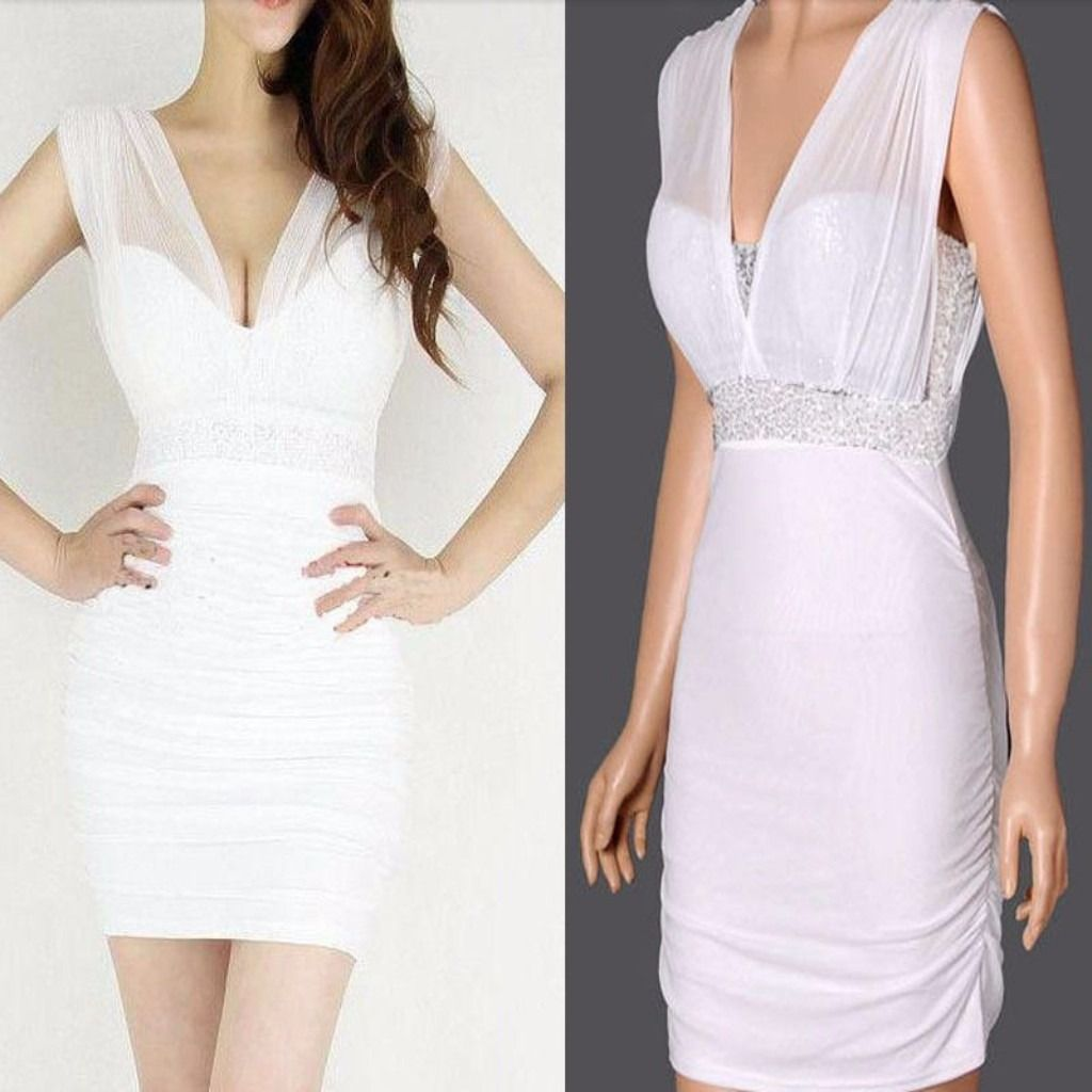58b3c8580e6b Sexy Mesh Sequin Women Bodycon Dress | Products | Dresses, Bodycon ...