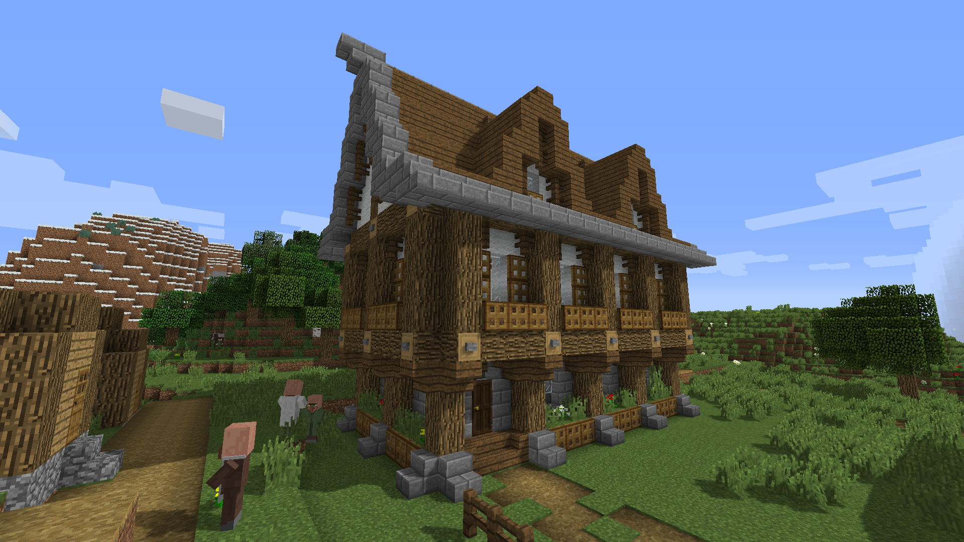 Medieval Houses Image By Molly On Minecraft