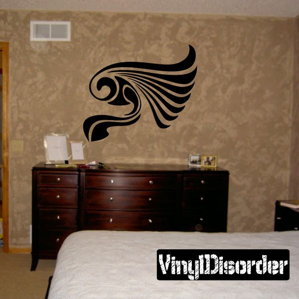 Wings Wall Decal - Vinyl Decal - Car Decal - DC12150
