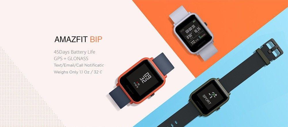 Xiaomi Amazfit Bip Desde España A Precio De China En Oferta Hoy En Aliexpress Por 47 Euros Con Este Cupón T Cupones Notificaciones Whatsapp Reloj Inteligente