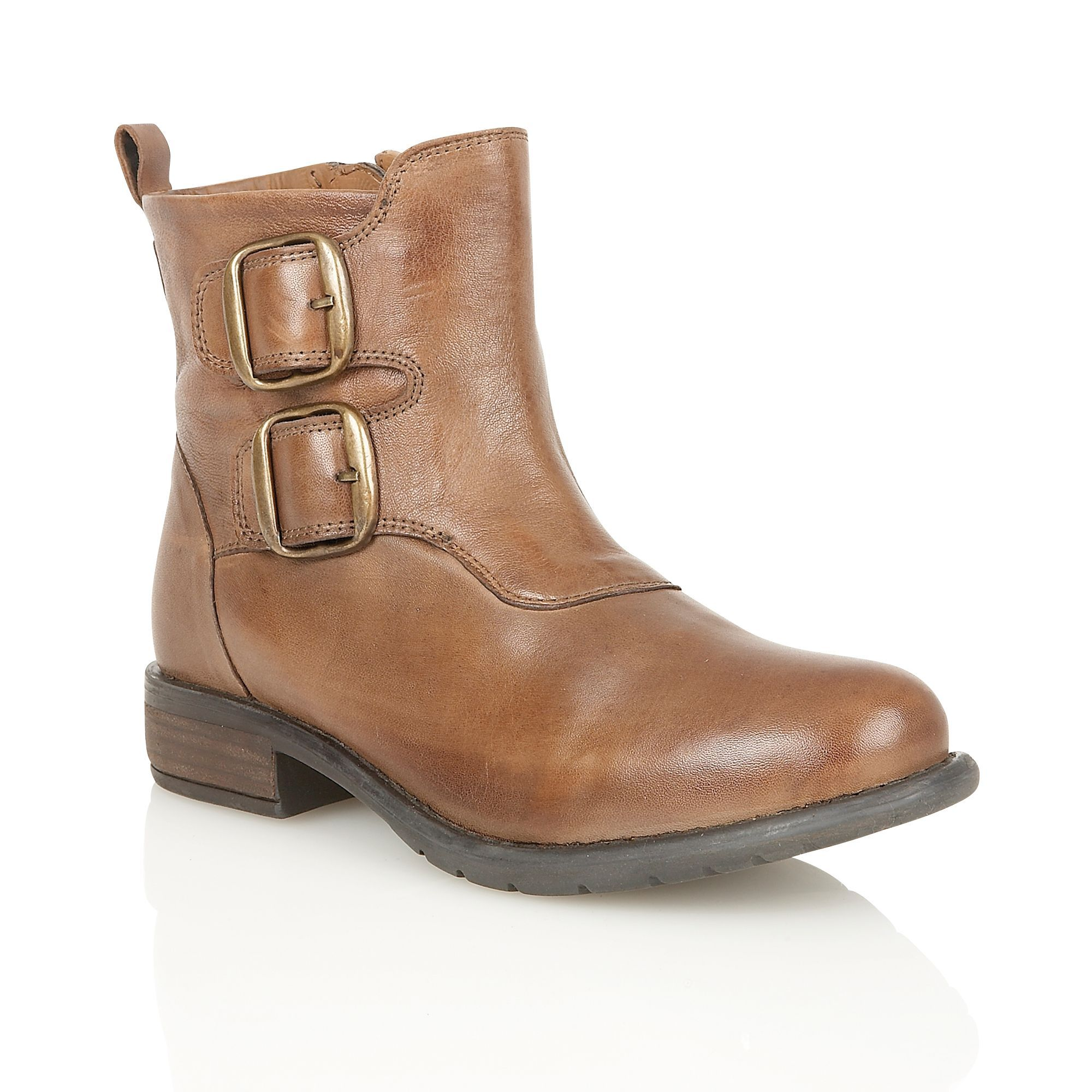 Lotus Jodie ankle boots, Tan