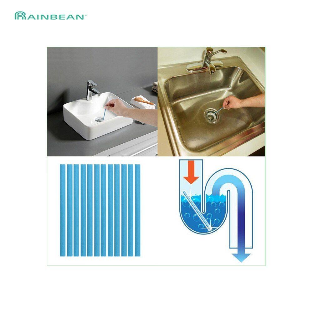 Magiccleanstick Abflussreiniger Stabchen 12er Set Spargut Innovative Produkte Zu Top Preisen In 2020 Abflussreiniger Waschbecken Abfluss