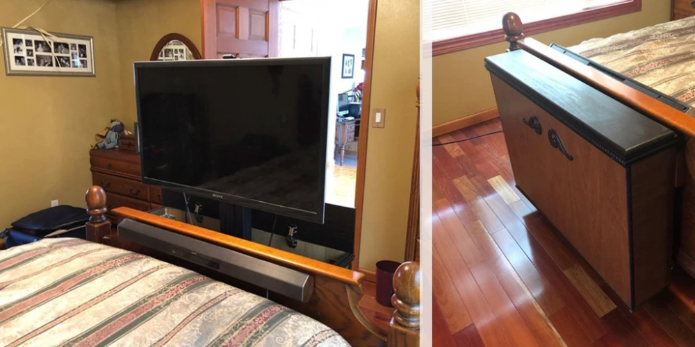The Best TV Lift Mechanisms For Tight Spots in 2020 Tv