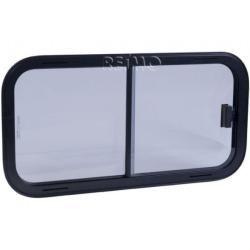 Photo of Sicherheitsglas Schiebefenster, Rahmen schwarz, 960×450 mmCampingshop-24.de – Blog