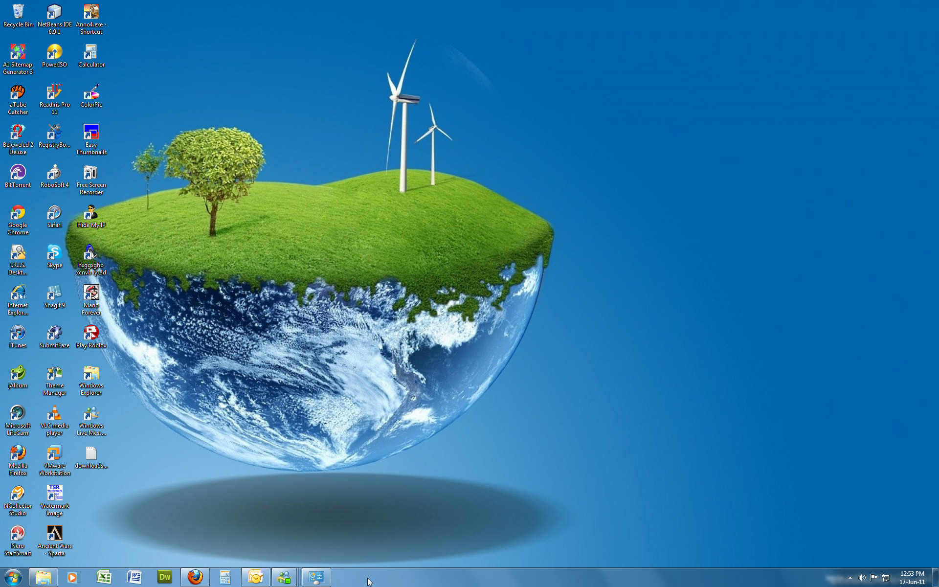 Free Desktop Themes Windows 7 Deviantart Com Art Windows 7 Theme 3d World 213374532 Planets Wallpaper Live Wallpapers Wallpaper