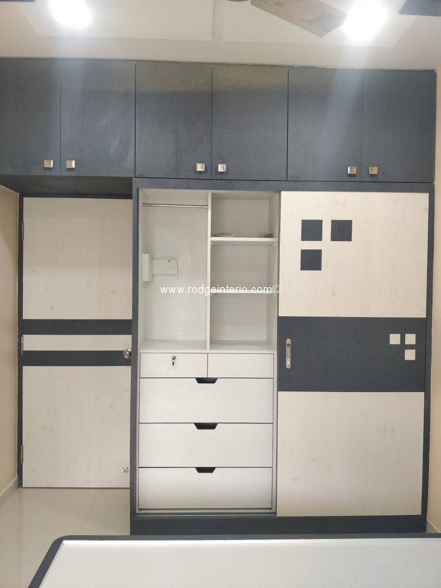 Two Door Sliding Wardrobe Internal Sections Visit Our Website For More Images In 2020 Wardrobe Design Bedroom Wardrobe Interior Design Bedroom Furniture Design