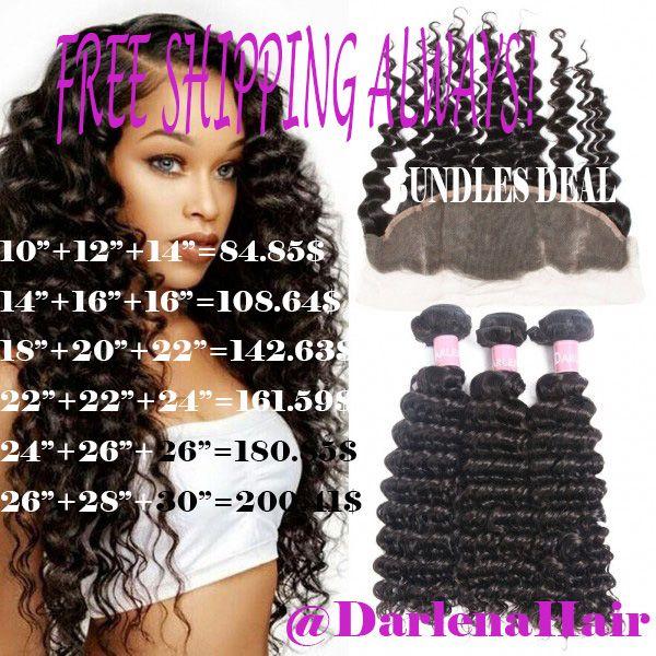 Darlen Malaysian Deep Wave Hair Wholesale Virgin Human Hair 3