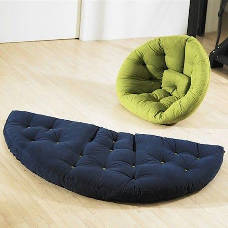 Nest Lounge Chair The Day Futon At Night Is Cosy Practical And So Comfortable Deco Design