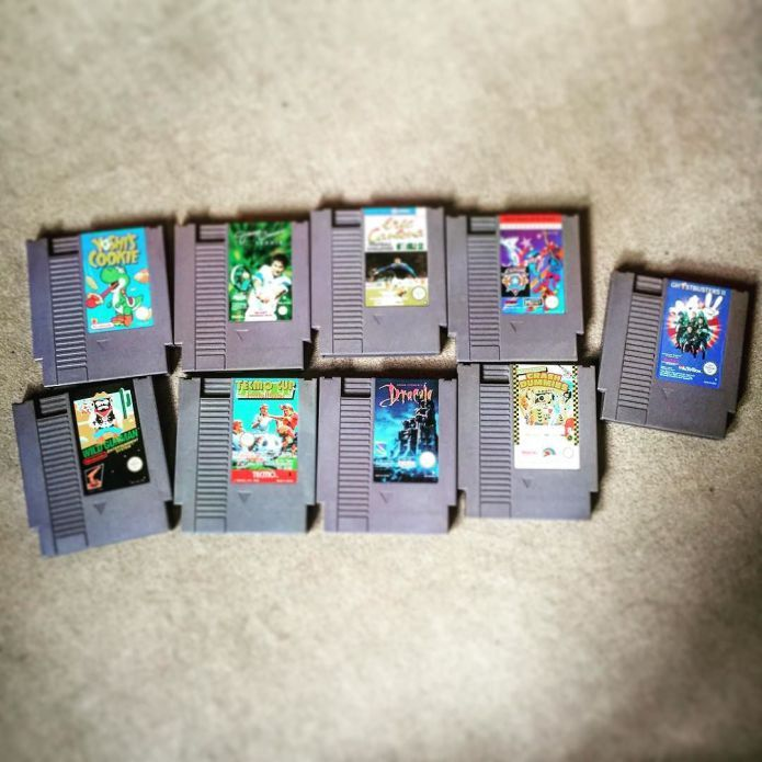 Neu für die #NES #PALB #Sammlung #Nintendo #CaptainAmerica #Ghostbusters #DataEast #Tecmo #Activision #NinstaGram #InstaGamer
