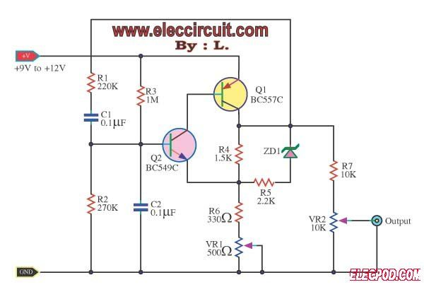 Oscilador De Onda Senoidal Com Imagens Circuito Eletronico