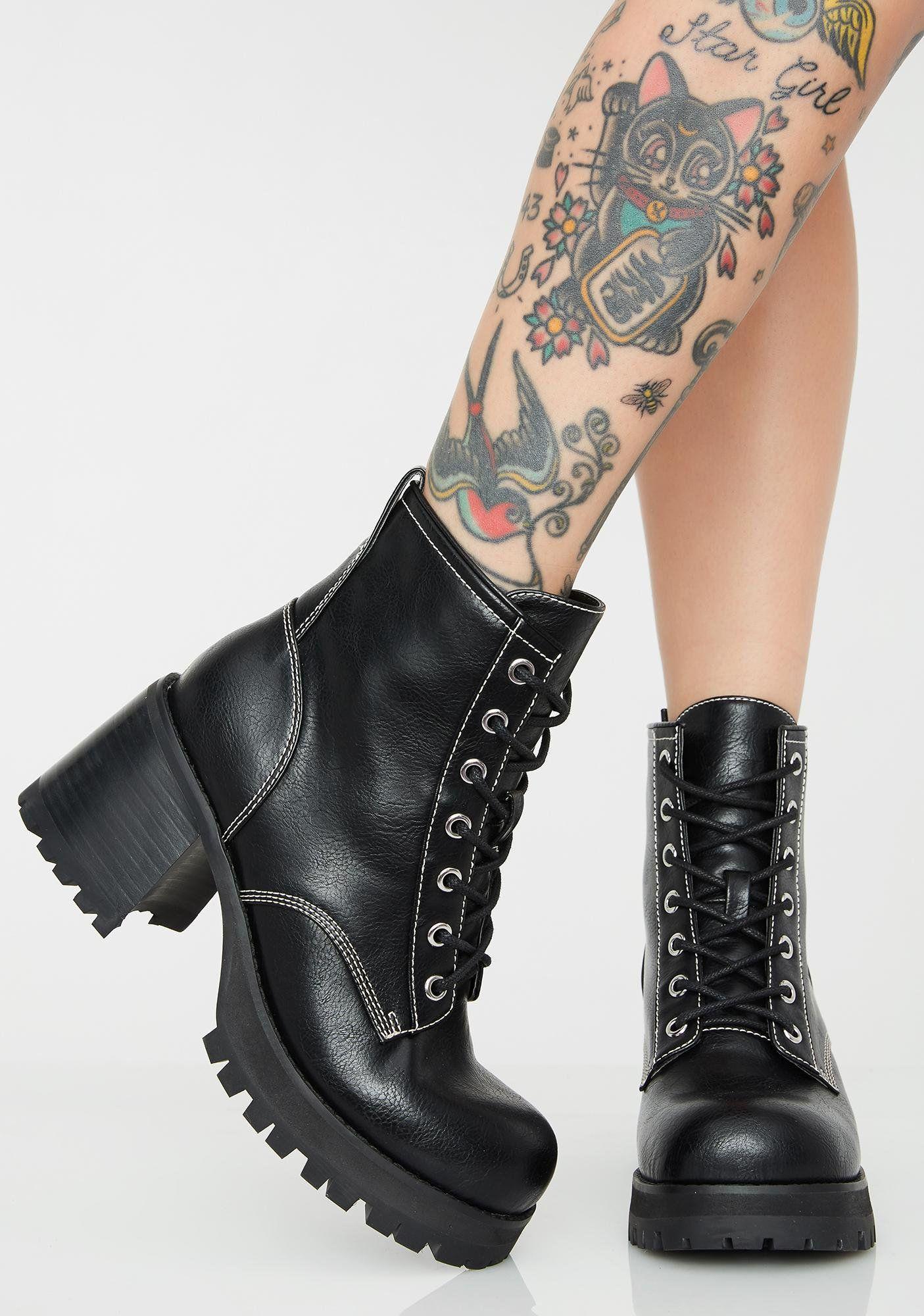 Antimatter Women/'s Platform Heels