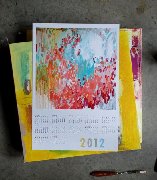 Since I can't afford her paintings, perhaps I'll settle for a calendar ...    { Michelle Armas }