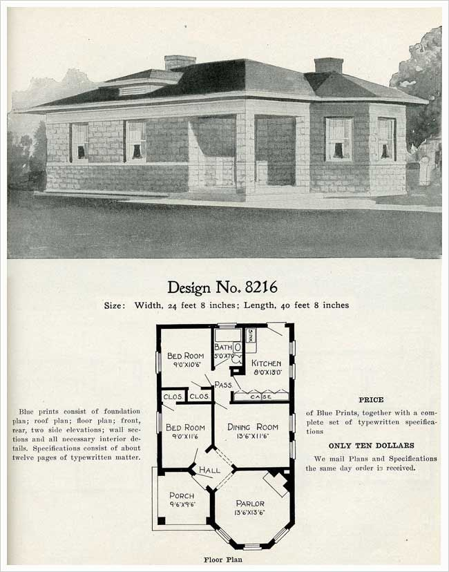 House Plan The Octagonal Parlor Intrigues Me Cement House Courtyard House Plans Cinder Block House