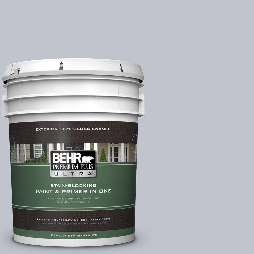 BEHR Premium Plus Ultra 5 gal. #N540-2 Glitter Color Semi-Gloss Enamel Exterior Paint