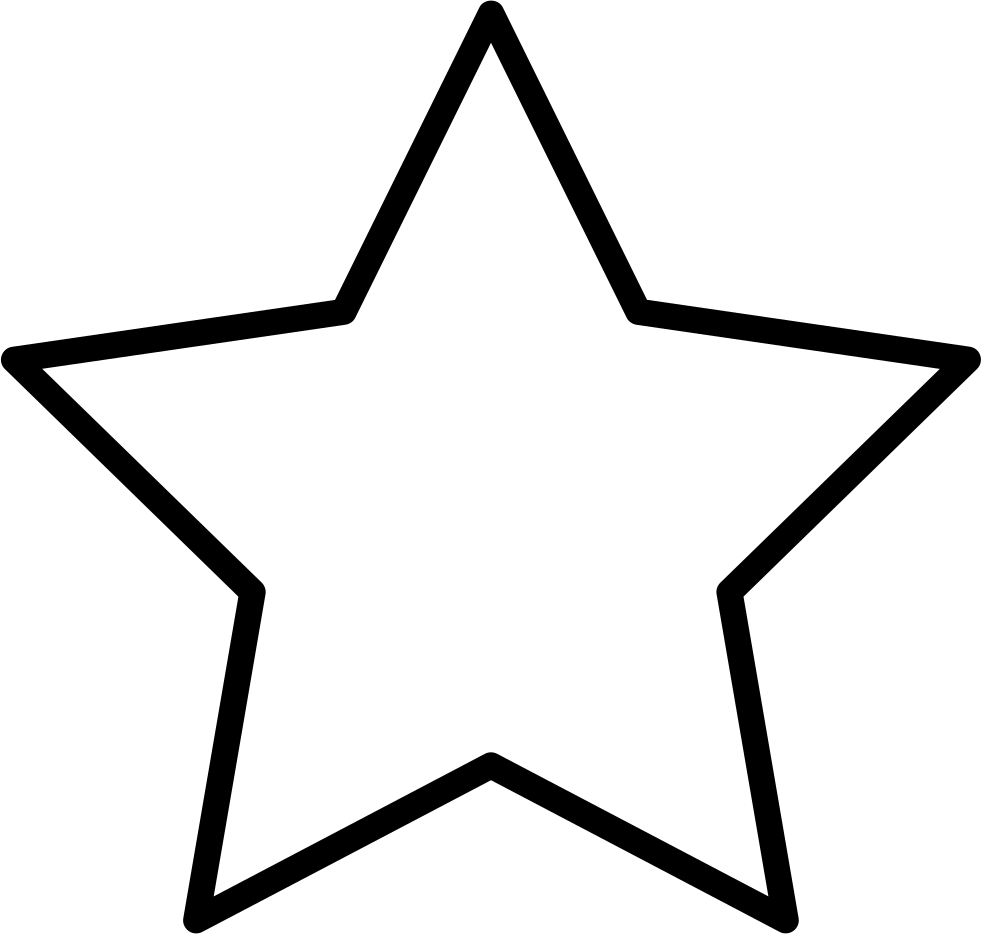 Black Star Star Template Printable Star Coloring Pages Star Template