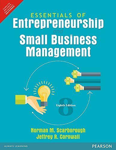 Entrepreneurship small business management