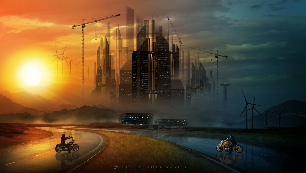 Back To Sky City by Softyrider62 on DeviantArt