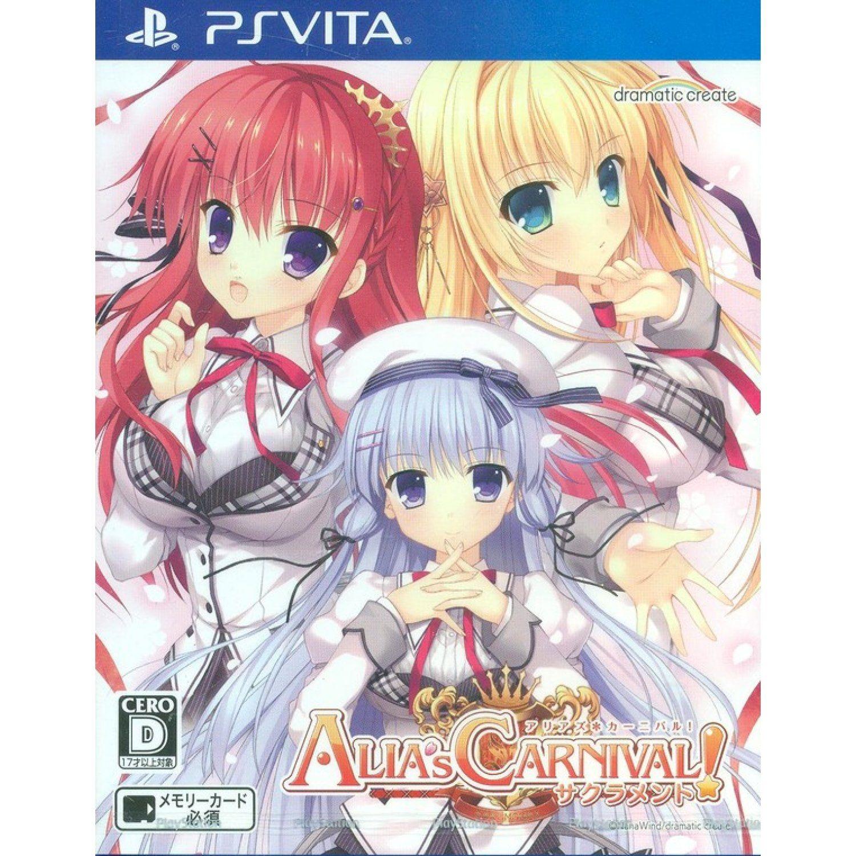 Alia's Carnival! Sacrament Carnival, Anime, Games