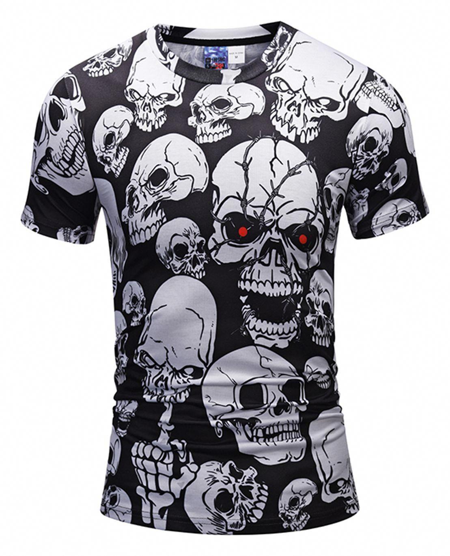 bbc9d02a7a0 Pizoff Unisex 3D Digital Printing T Shirts Y1625-M2  MensT-shirts ...