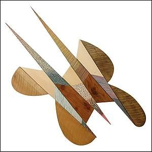 No. 93, Stingaling by James Nelson: Wood Wall Sculpture available at www.artfulhome.com