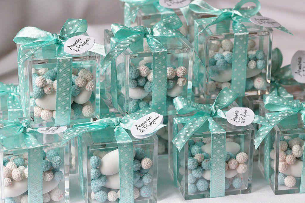 Bomboniere Matrimonio Verde Tiffany.Bomboniere Plexiglass Tiffany Bomboniere Matrimonio Verde Menta