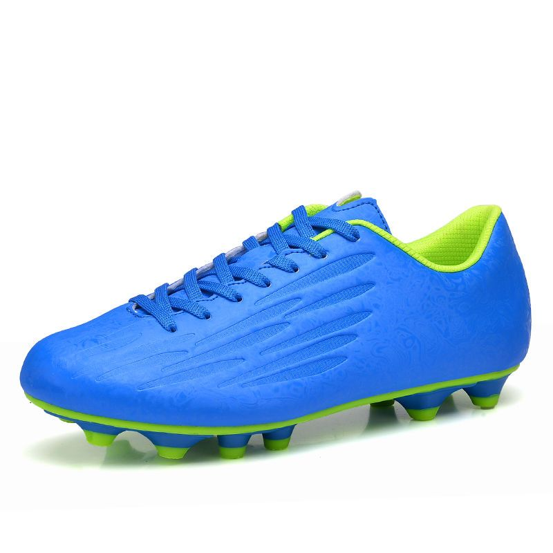 08484fad879 Adults Men s Solid Outdoor Soccer Shoes Firm Ground Football Boots Soccer  Cleats  Unbranded