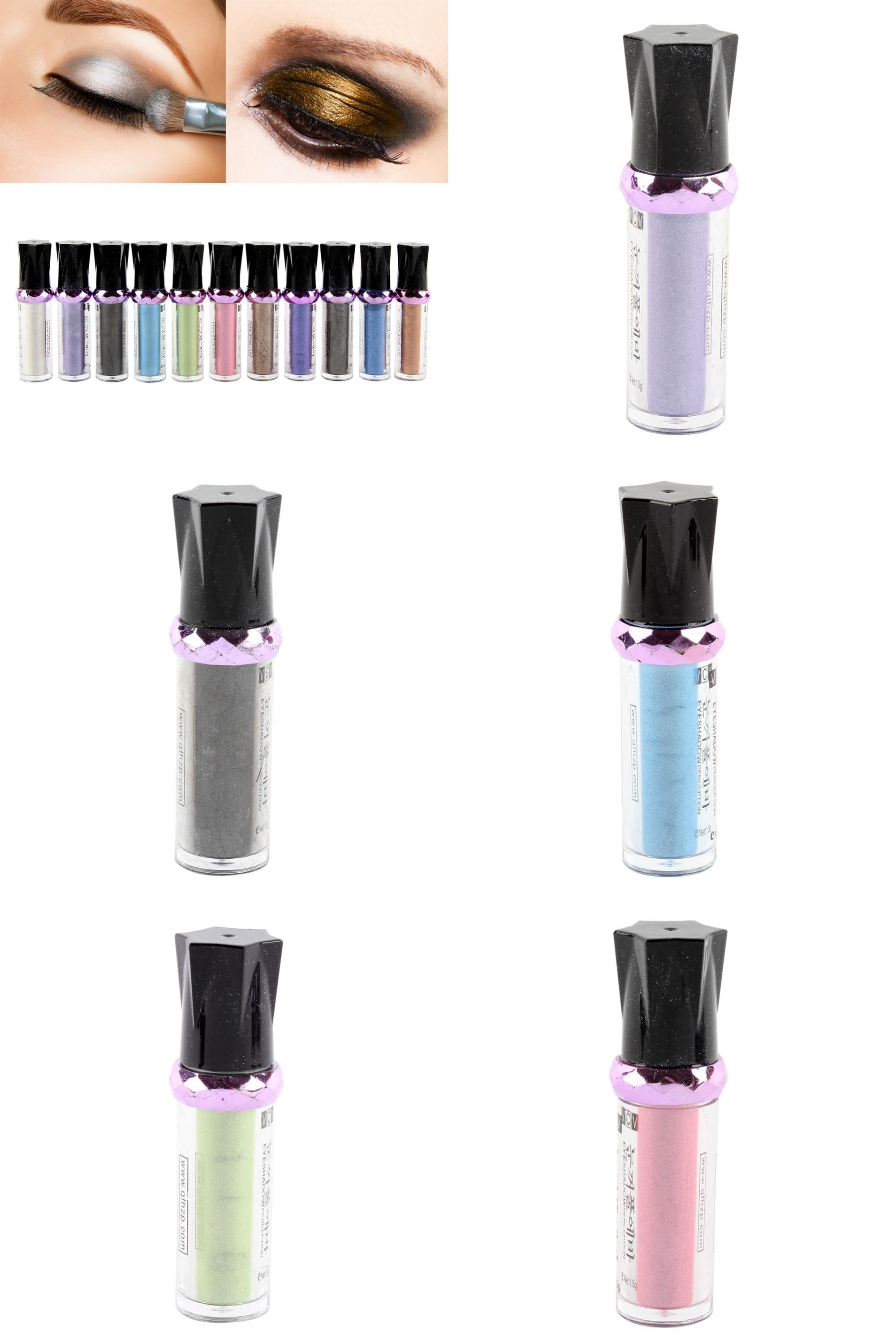[Visit to Buy] Single Roller Color Eyeshadow Glitter