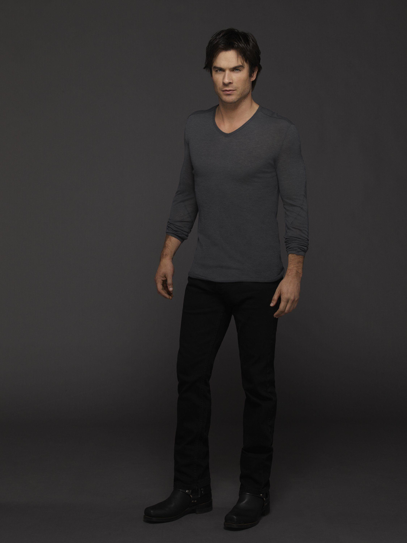 Salvatore on the vampire diaries he was pictures to pin on pinterest - Damon Salvatore Season 6 Official Picture The Vampire Diaries Photo