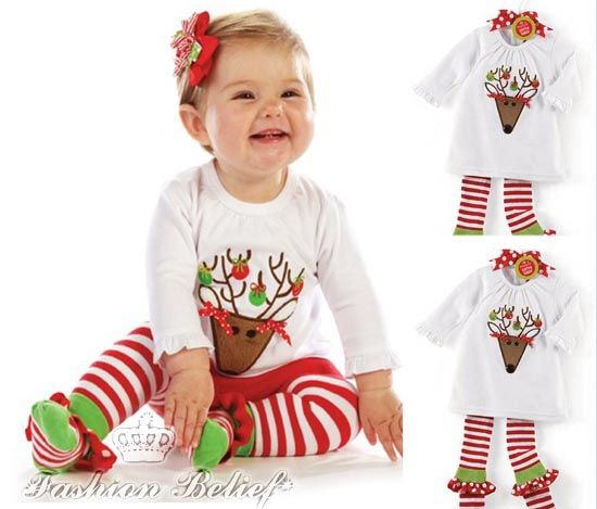 Cute Christmas outfits for babies