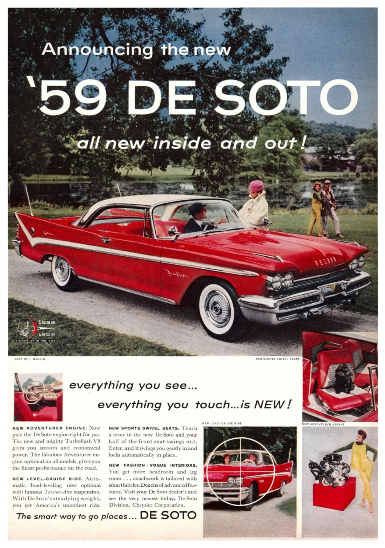 1959 Desoto Ad Automobile Advertising Classic Cars Vintage Car