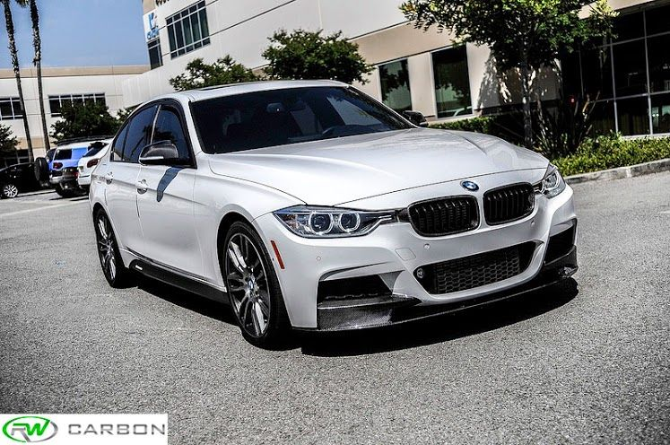 The Rwcarbon F30 Msport Installed On A F30 335i Great Fitment