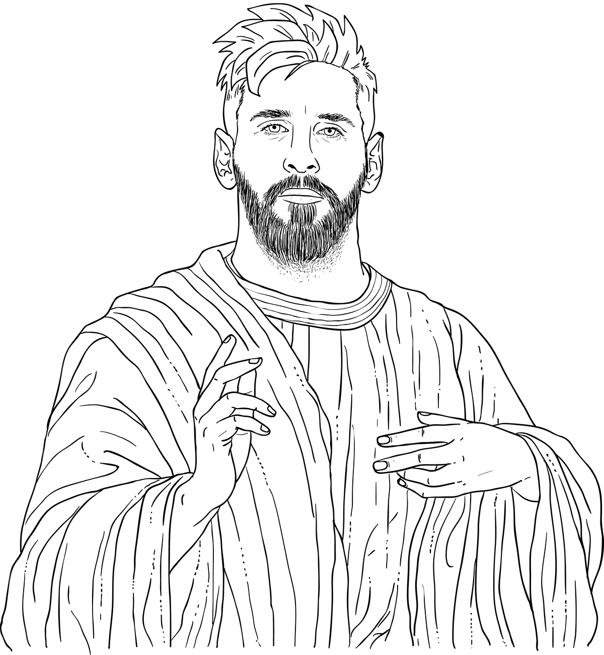 Free Lionel Messi Messiah Coloring Pages Printable Shelter Messi Coloring Pages Coloring Pages For Kids
