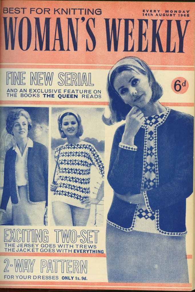 The Knitting Patterns For This Fetching Jumper And Jacket Twin Set