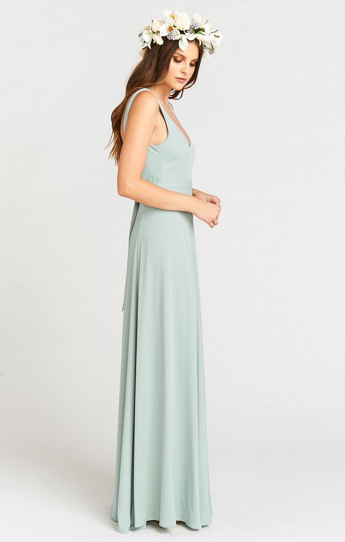 510c966668b6 Jenn Maxi can elegantly twirl and spin all night long. Her deep neckline  lets you play around with your necklace length - or go without and rock some  ...