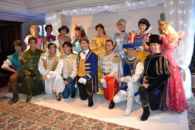 Meeting the Disney Princesses and Princes
