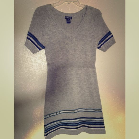 Wet seal wool dress  Very cute and stylish wool dress from wet seal preowned in good condition size small Wet Seal Dresses