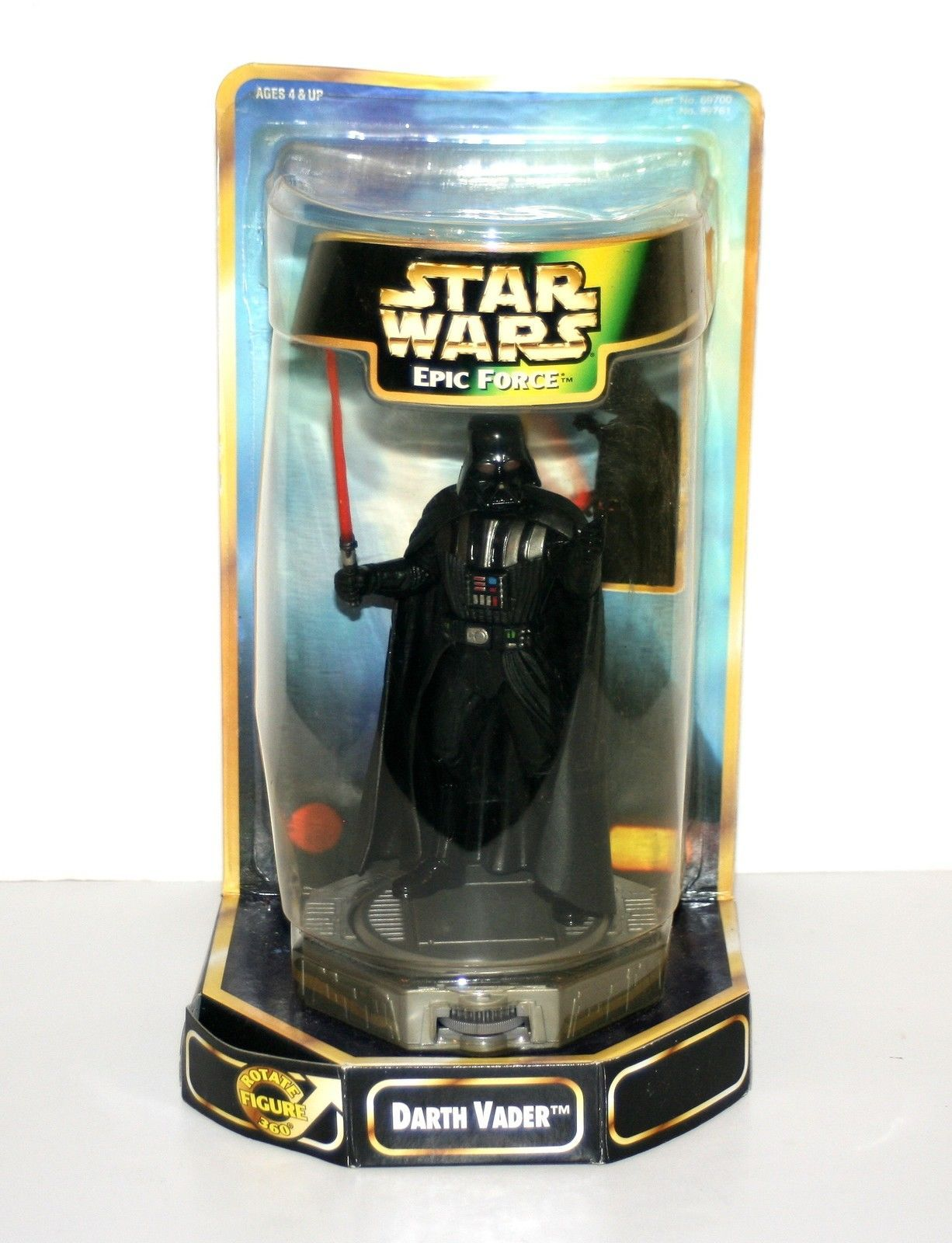 Kenner 1997 Star Wars Epic Force 360 degree rotating Boba Fett w// FREE SHIPPING