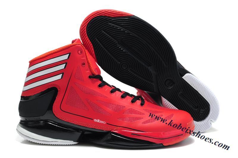 Adidas Adizero Crazy Light 2 Derrick Rose Shoes Red Black Derrick